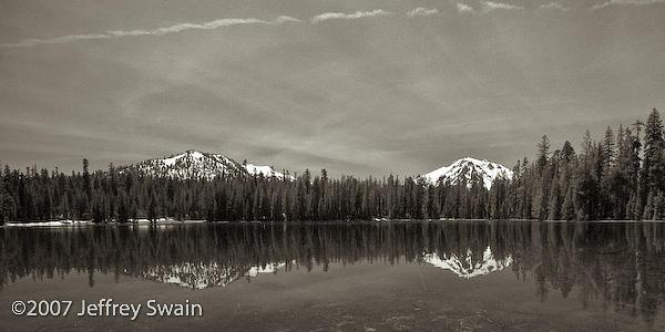Landscape Photograph - Summit Lake by Jeffrey Swain