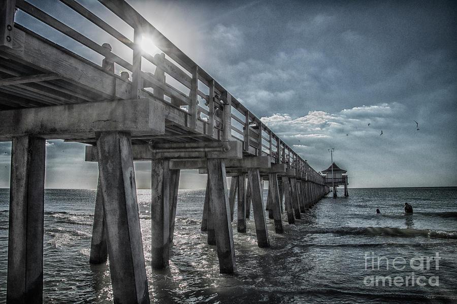 Sun Photograph - Sun And Fun In Naples Florida by Judy Hall-Folde