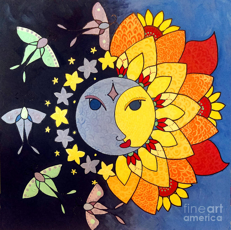 Sun and Moon by Caroline Sainis