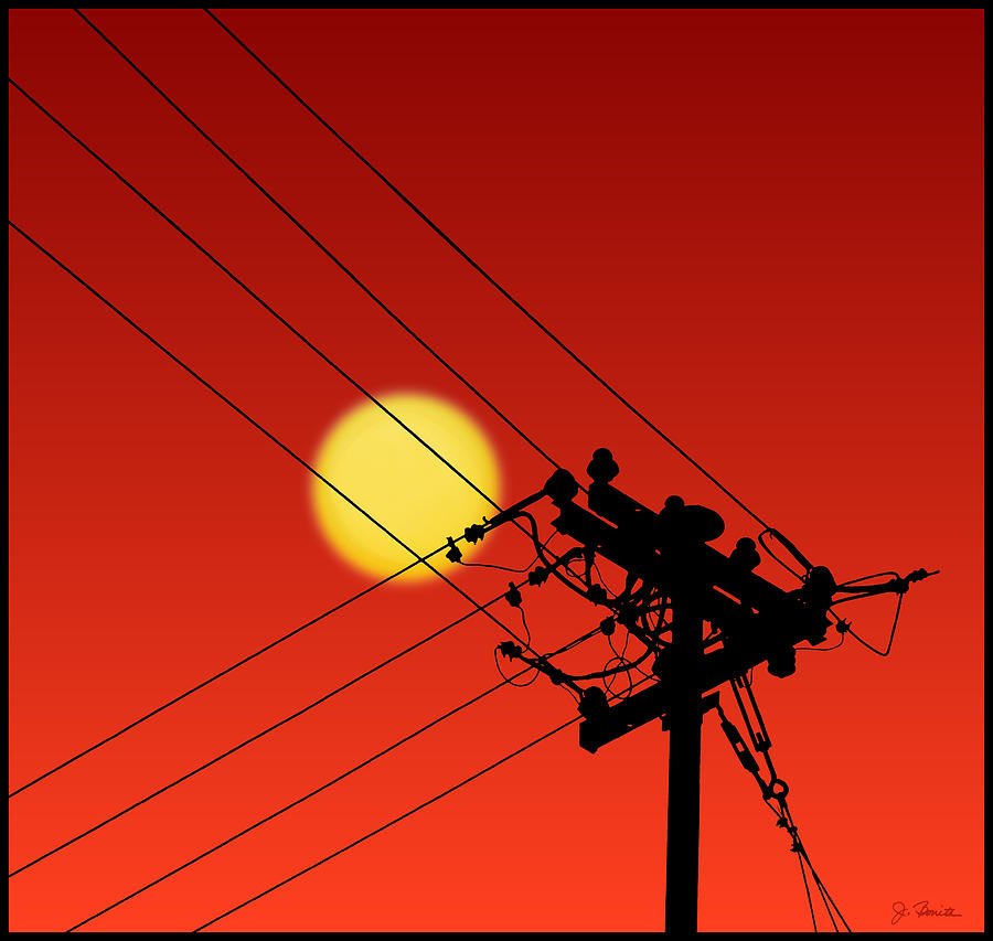 Sun and Silhouette by Joe Bonita