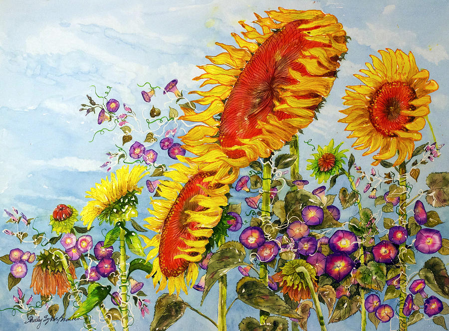 Sun And Wind Painting