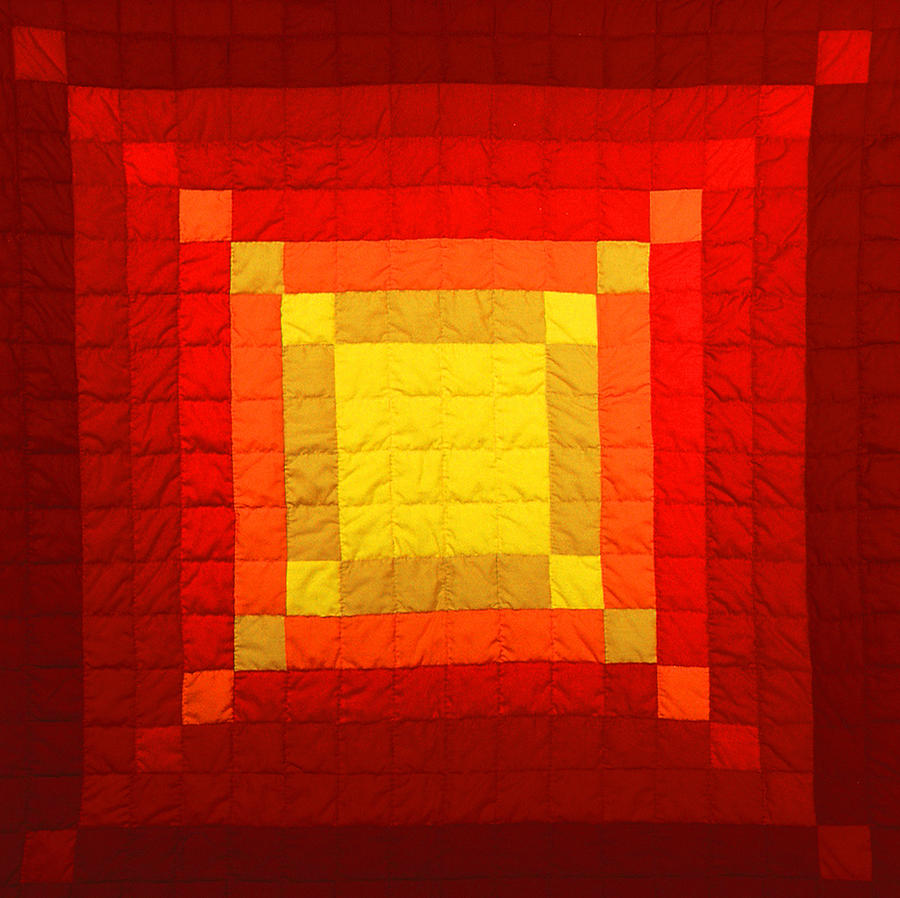Fabric Tapestry - Textile - Sun Burst by Mildred Thibodeaux