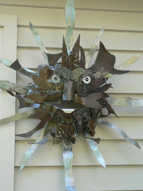 Sculpture Sculpture - Sun Burst by Todd Timler