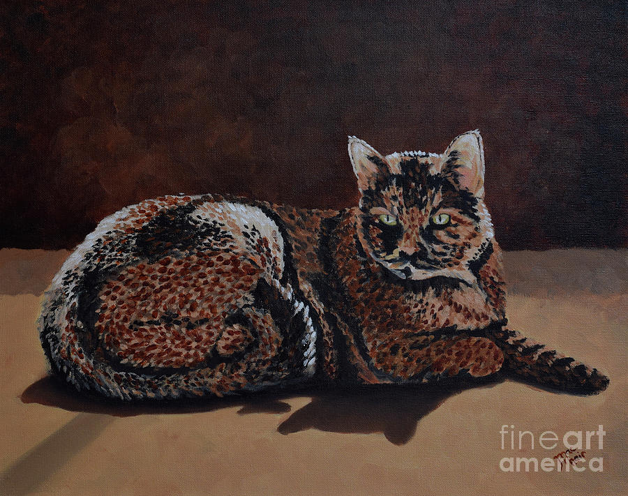 Sun Cat by Jackie MacNair