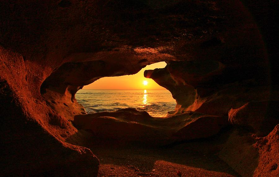 Sun Cave Photograph by Catie Canetti