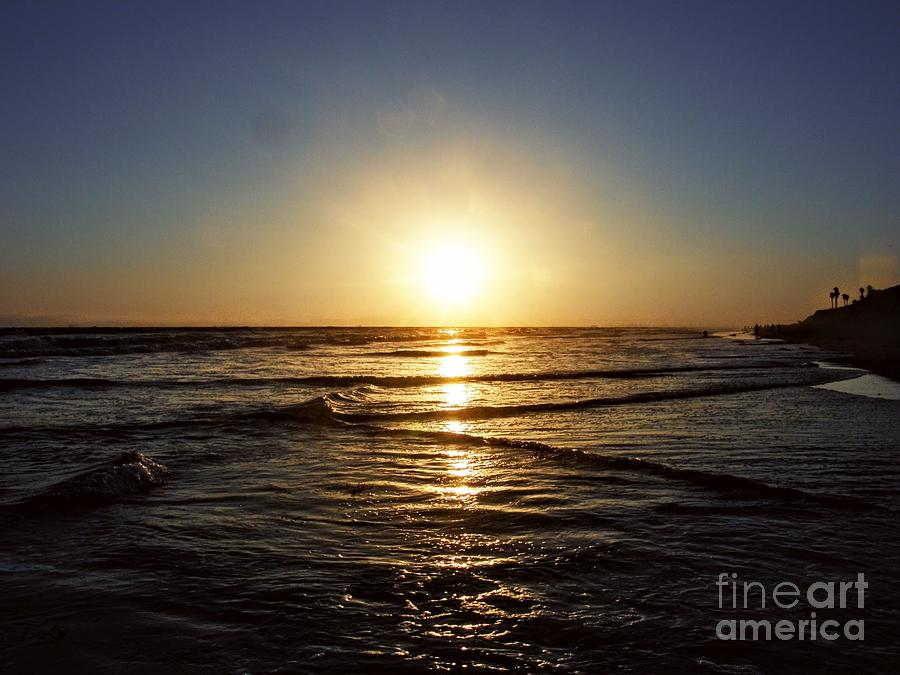 Ocean Sunset Photograph - Sun Dance  by Leah McPhail