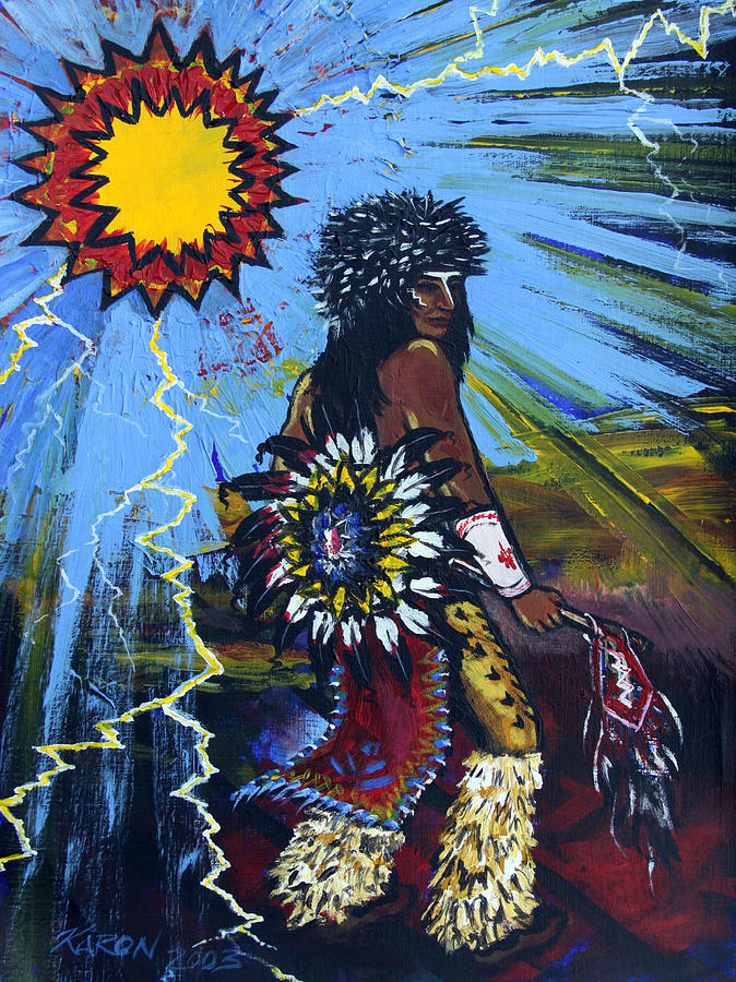 Painting Painting - Sun Dancer by Karon Melillo DeVega
