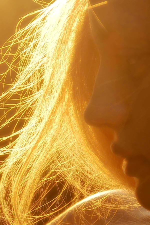 Hair Photograph - Sun by Jeylina Ever