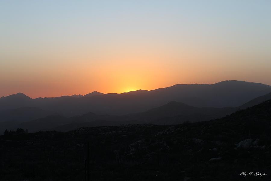 Sun Kiss Valley Photograph