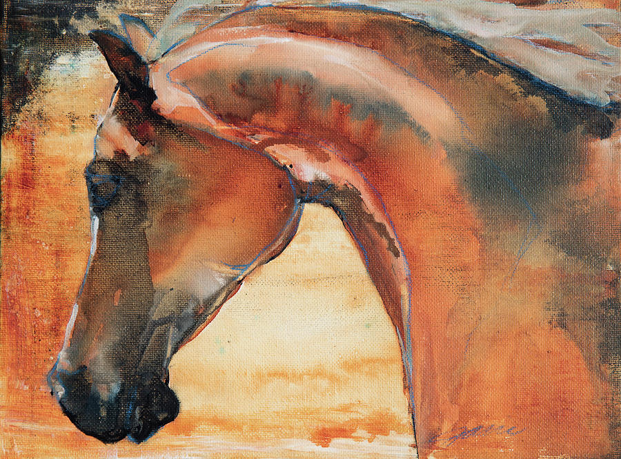 Sun Kissed Abrabian Painting