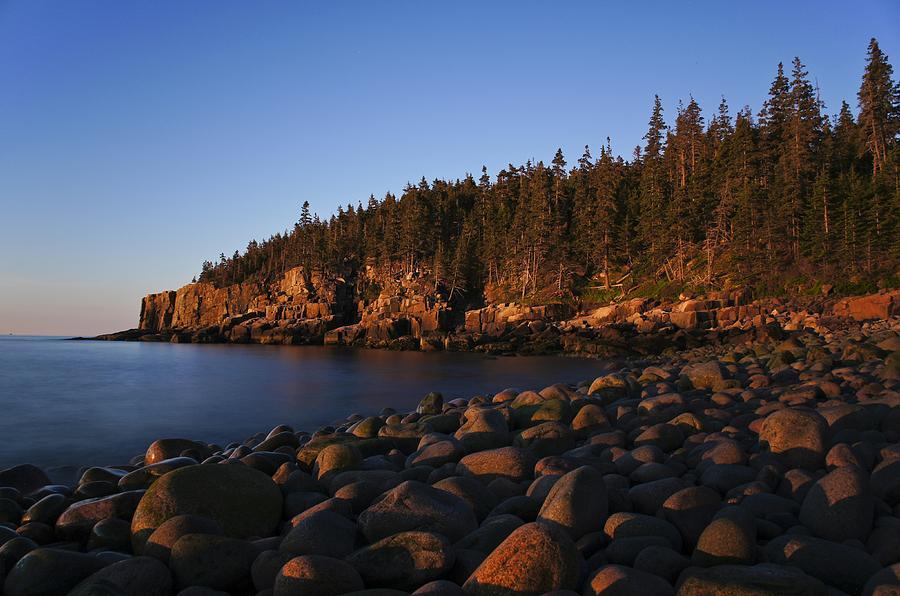 Acadia Photograph - Sun Kissed Acadia by Brian Kamprath