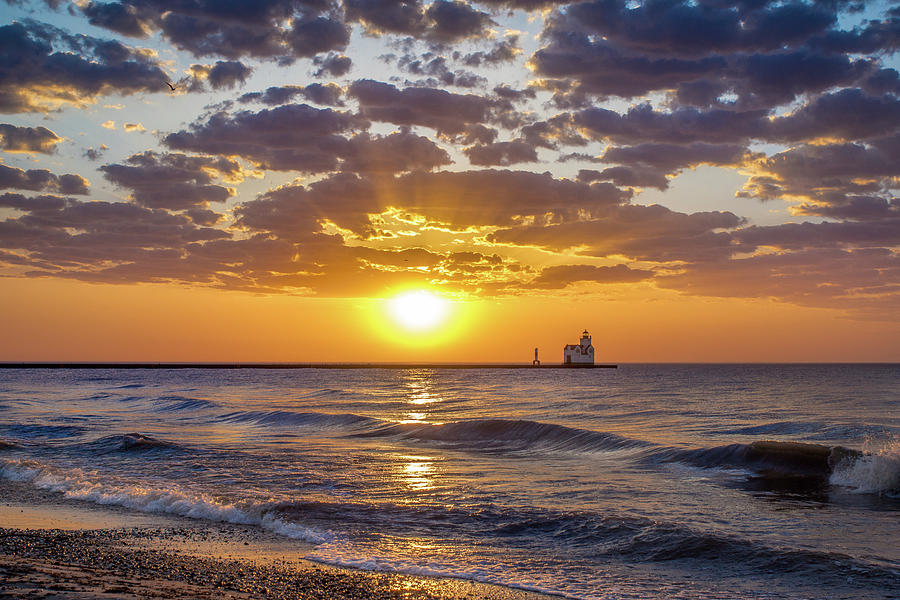 Lighthouse Photograph - Sun Kissed by Bill Pevlor