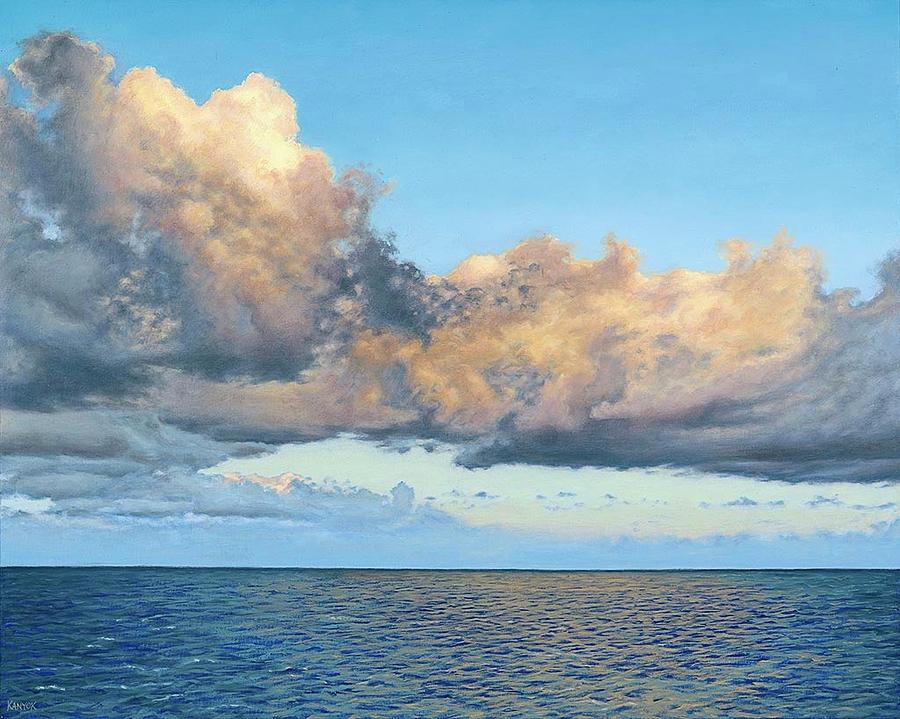 Seascape Painting - Sun Kissed by Darrel Kanyok