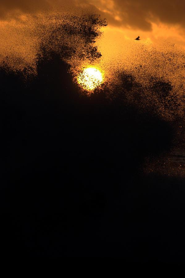 Sun Photograph - Sun Monster by Brad Scott