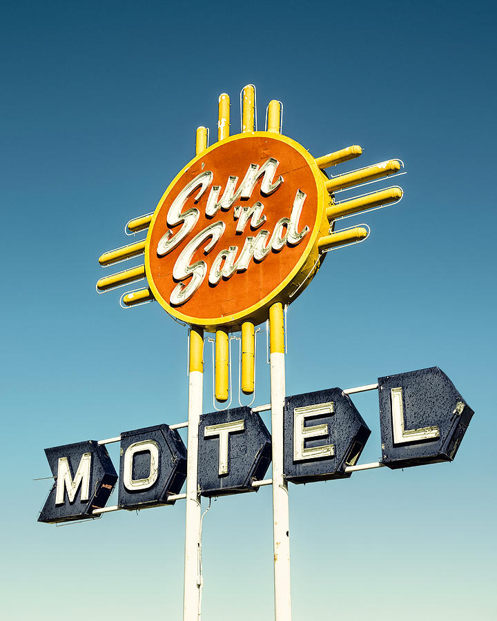 Route 66 Photograph - Sun n Sand by Humboldt Street