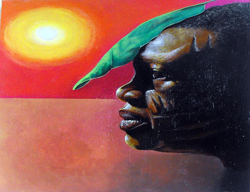 Acrylic Painting - Sun of Refuge by William Burton Jr