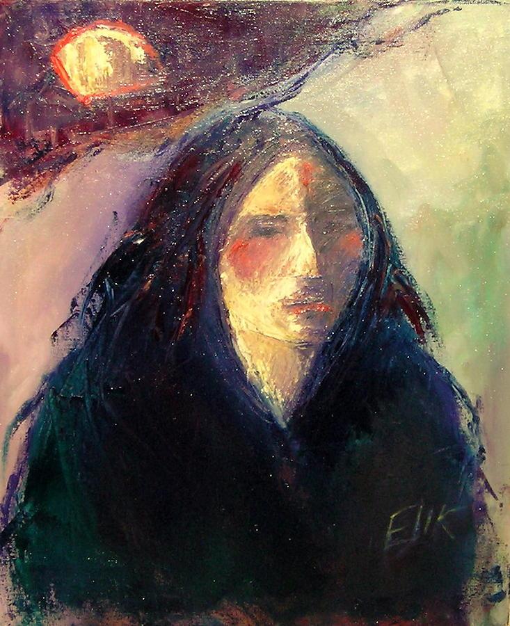 Sun Power 11 Painting by Johanna Elik