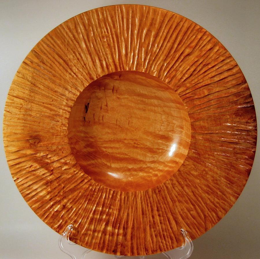 Wood Mixed Media - Sun Ray Bowl by Scott Blackman