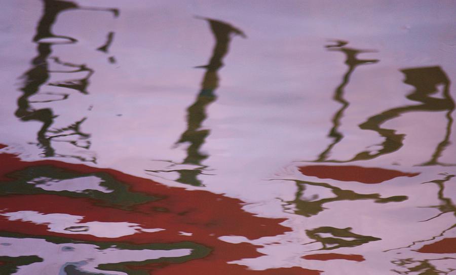 Nature Photograph - Sun Reflection by Kyra Munk Matustik