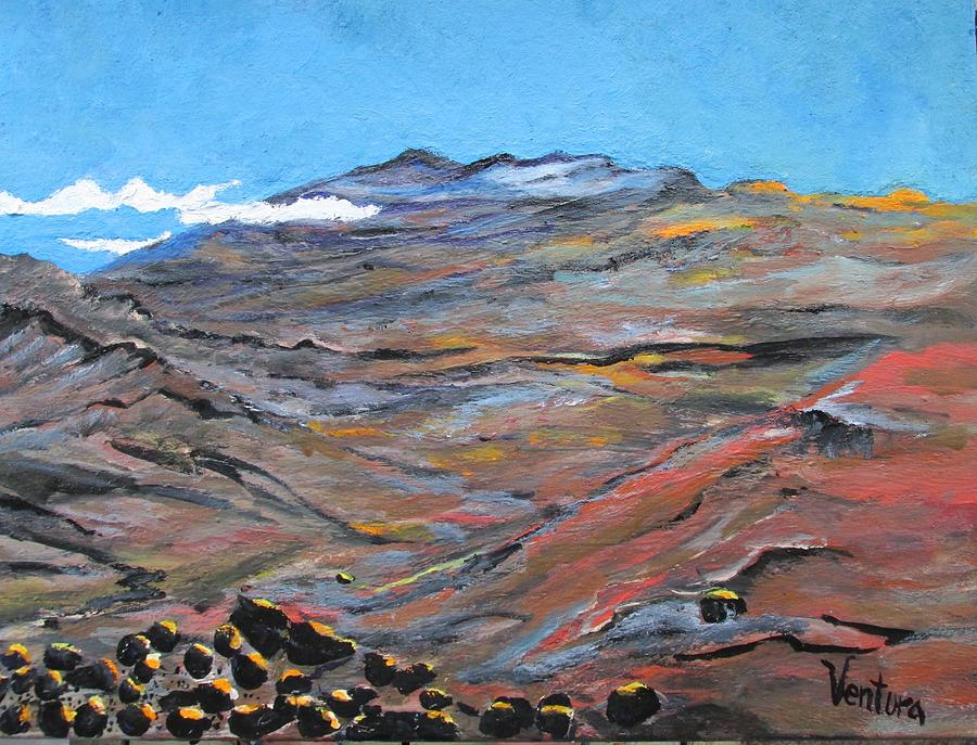 Haleakala Painting - Sun Salutation At Haleakala by Clare Ventura