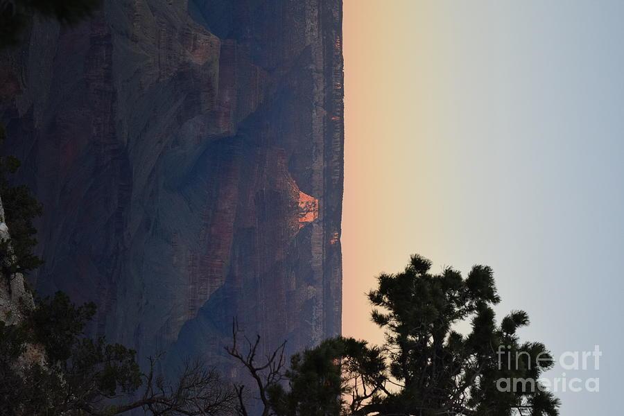 Sun Set Canyon Photograph