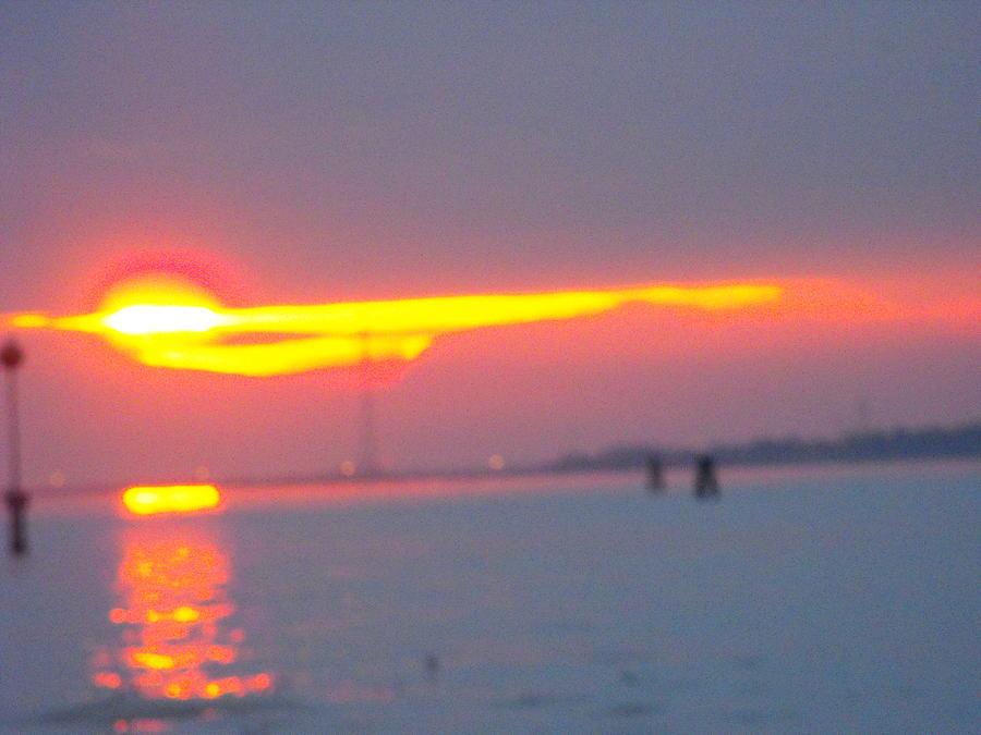 Sun Sets Over Venice IIi Photograph by Viviana Puello Villa