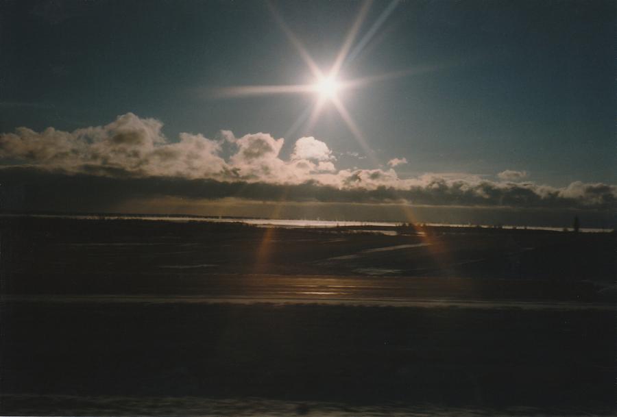 Sun Photograph - Sun Star by Gene Linder