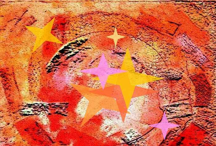 Fantasy Print - Sun Star by Patricia High