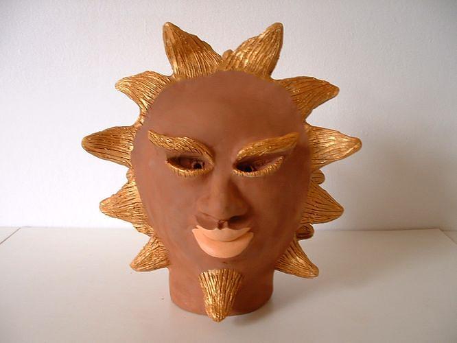 Sun Sculpture - Sun by Stephane Renaud