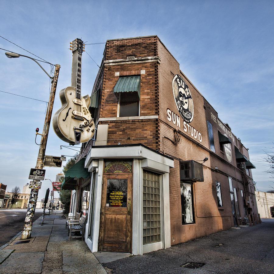 Sun Studio - Memphis #1 Photograph
