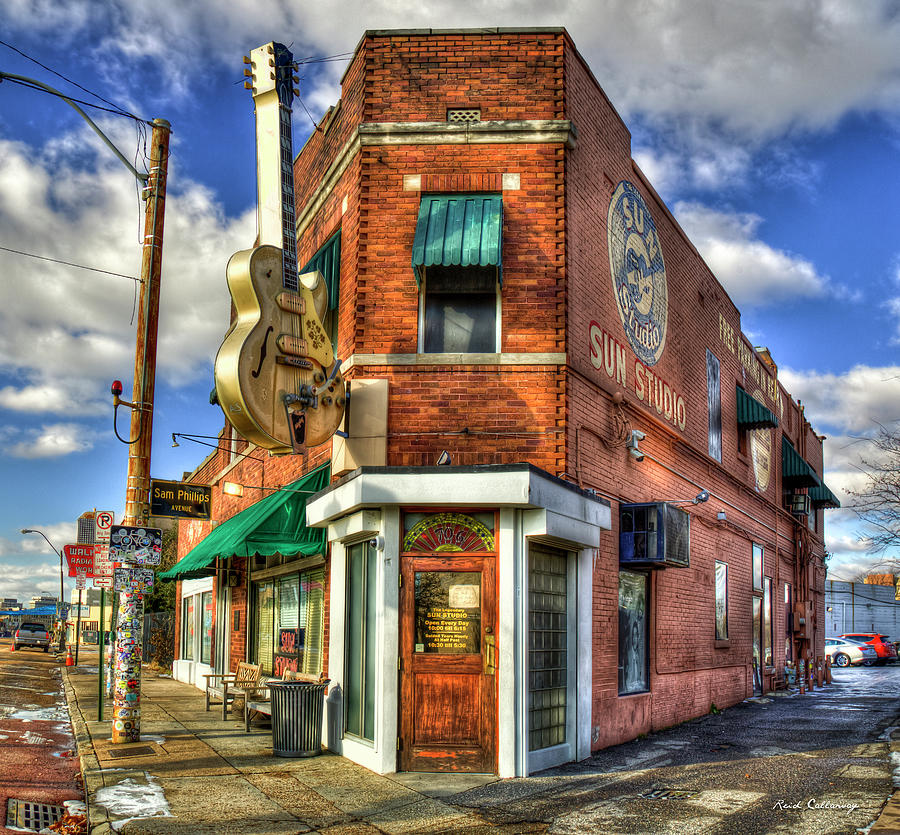 Sun Studio Rock N Roll Birthing Place Memphis Tennessee Art by Reid Callaway