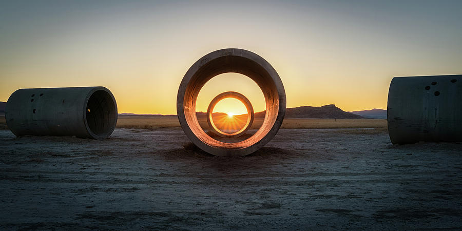 Sun Tunnel Solstice by James Udall