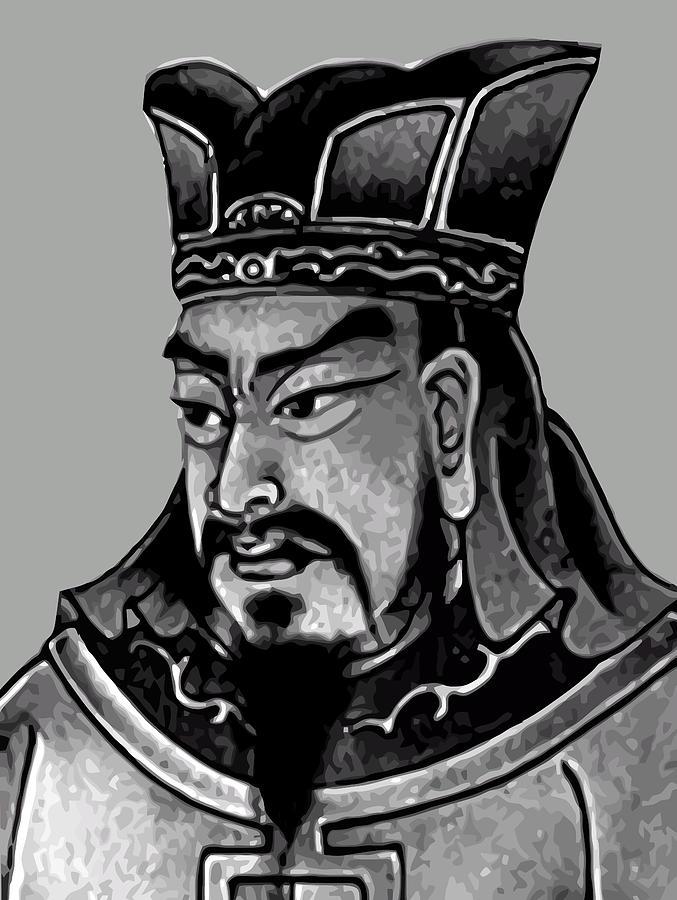 Sun Tzu Painting - Sun Tzu by War Is Hell Store
