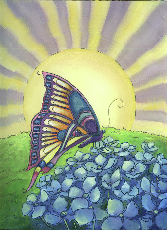 Sun Up Painting by Michelle Lackey