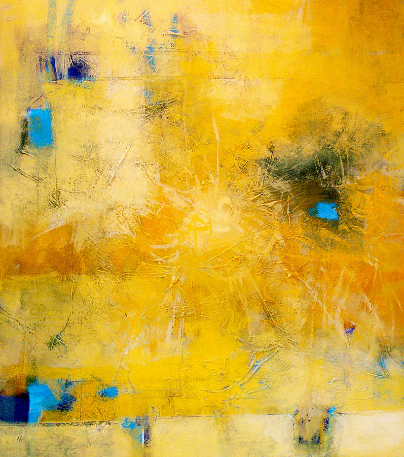 Abstract Painting - Sun Web by Dale  Witherow