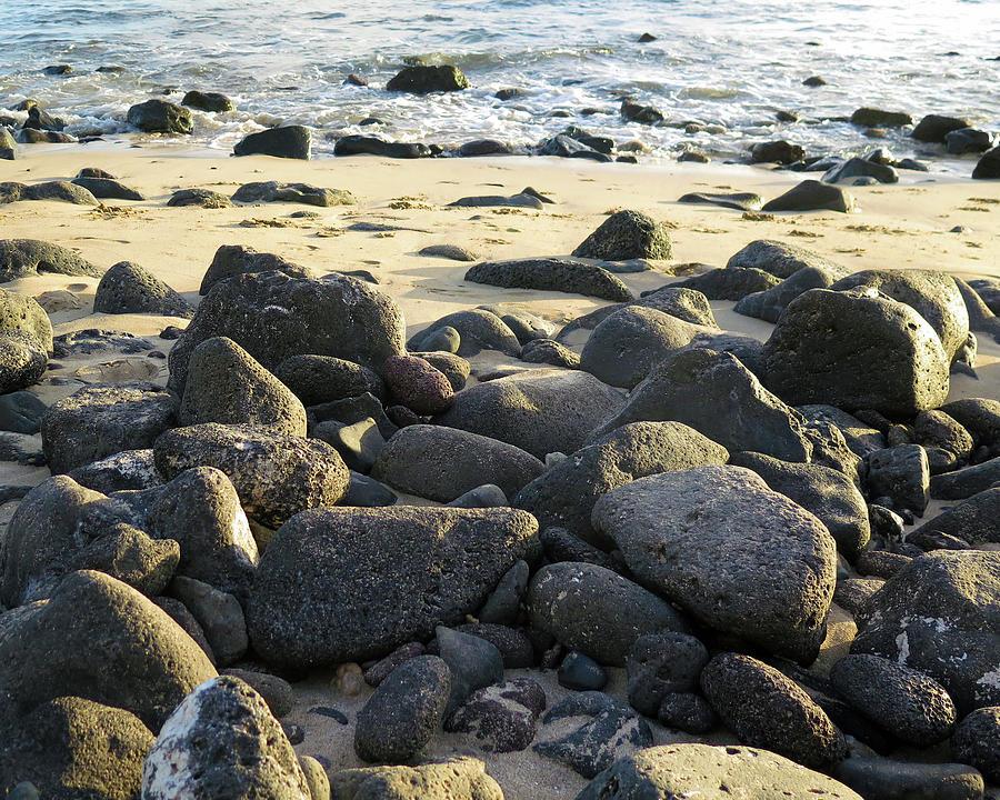 Sunbathing Stones by Kathy Corday