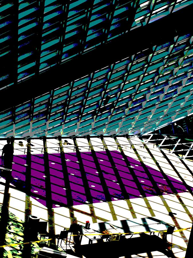 Seattle Photograph - Sunbeaming by Tim Allen