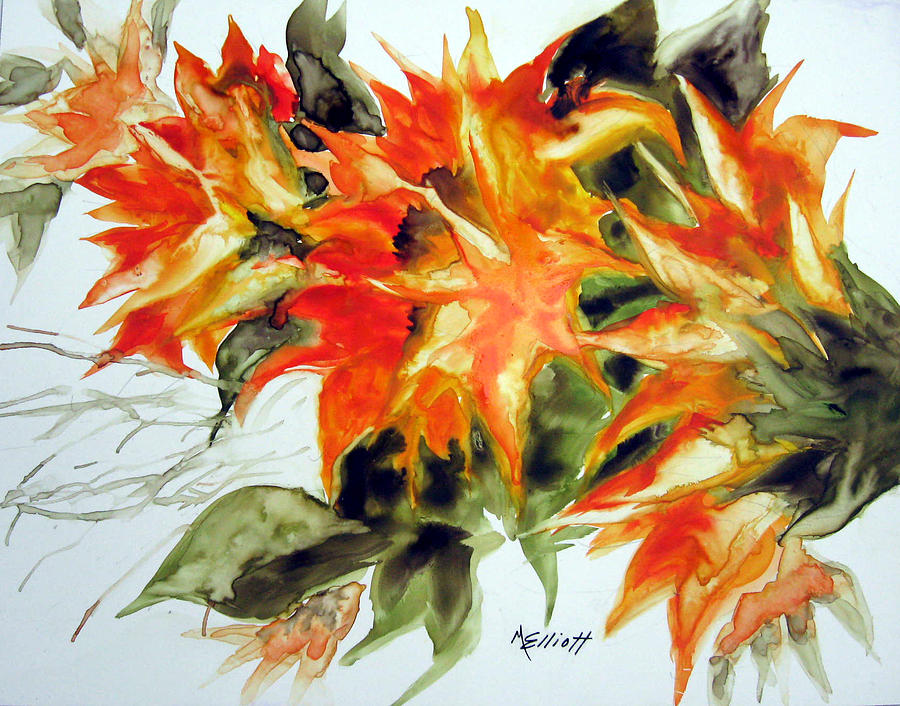 Flowers Painting - Sundance by Marsha Elliott