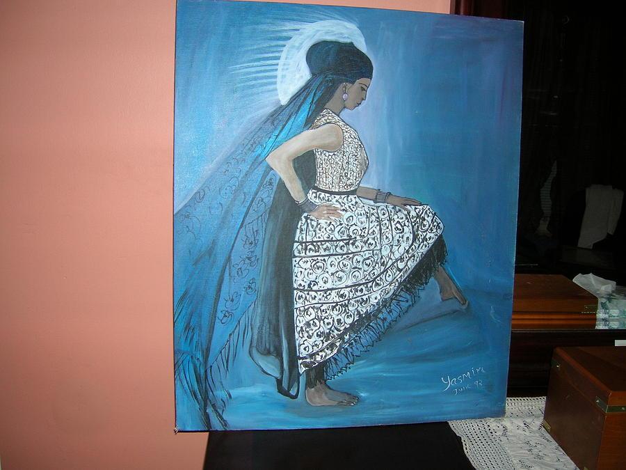 Sundancer Painting by Zeenath Diyanidh