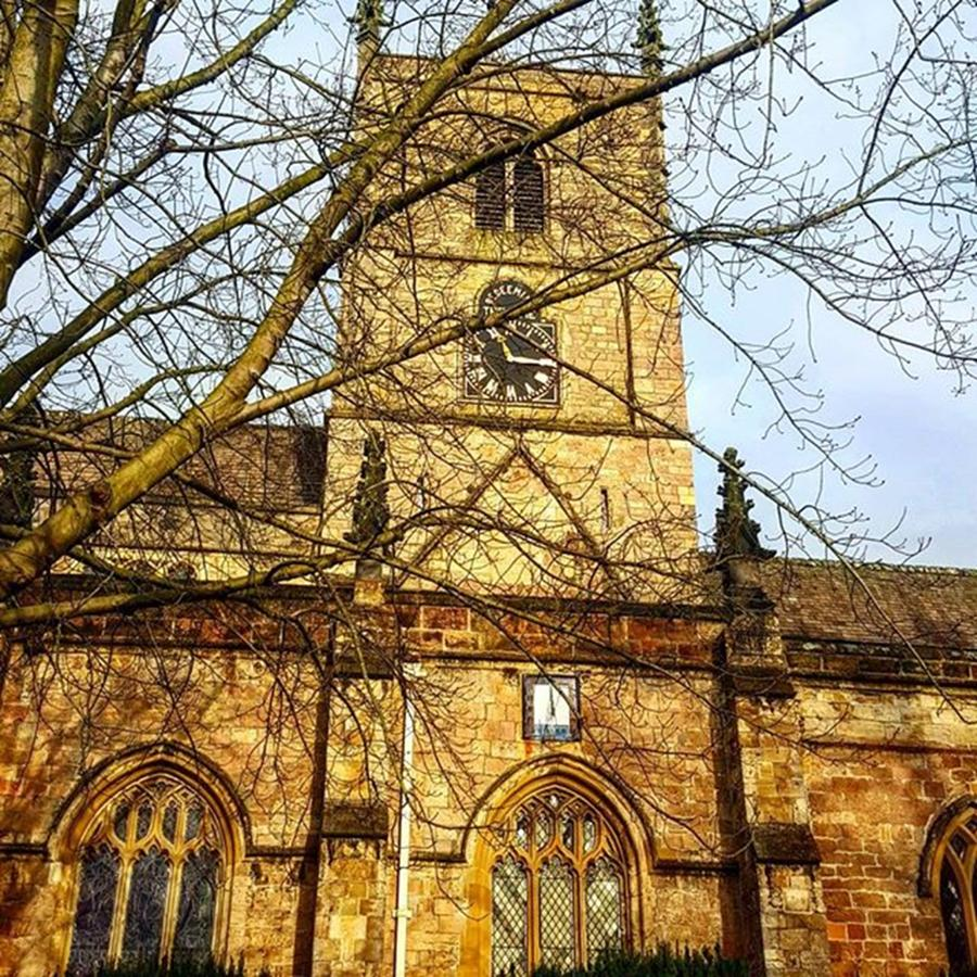 Church Photograph - Sunday Again, Lovely #english Country by Dante Harker