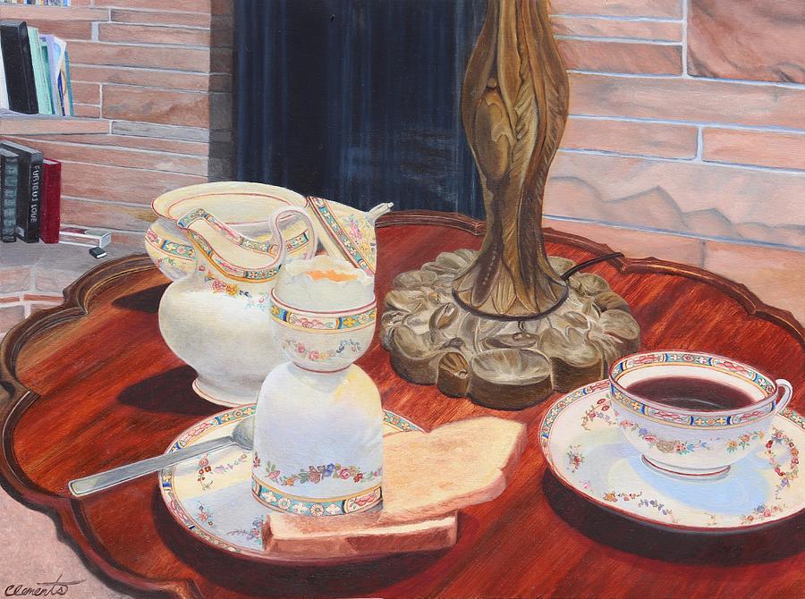 Sunday breakfast by Barbara Barber