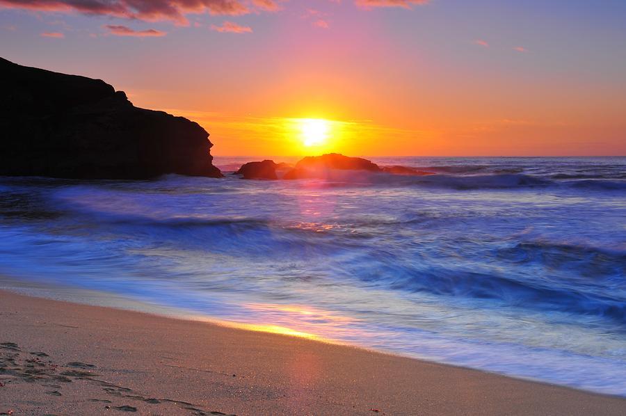 Sunset Photograph - Sunday Evening by Daren  Le