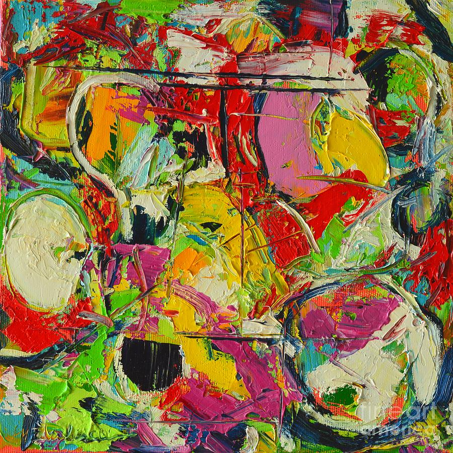 Abstract Painting - Sunday Mood by Ana Maria Edulescu