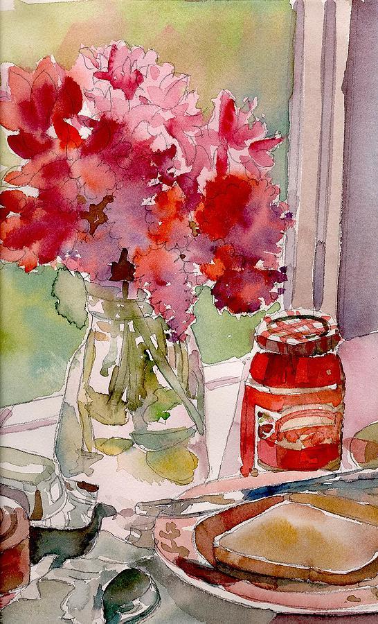 Food Painting - Sunday Morning by Yolanda Koh