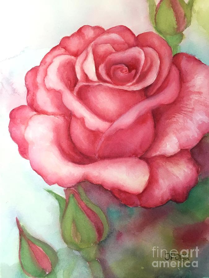 Sunday rose by Inese Poga