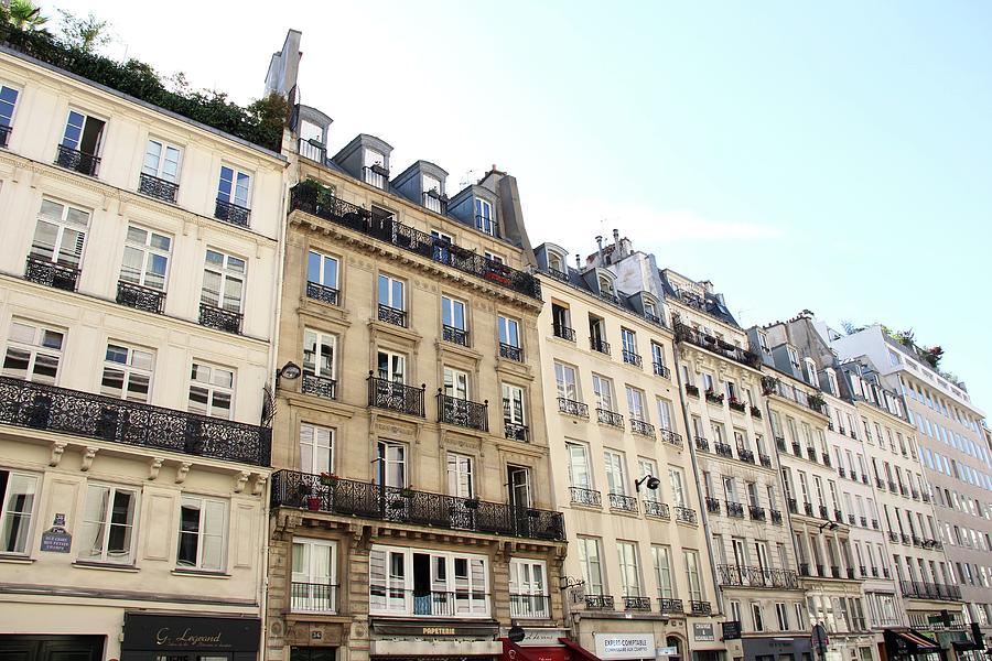 France Photograph - Sunday Stroll On The Rue De Richelieu by Sean Flynn