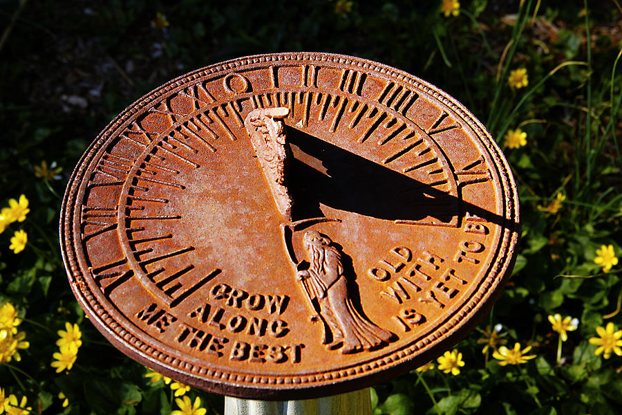 Sundial Photograph - Sundial by Frank Savarese