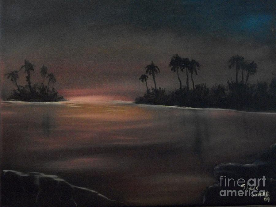 Landscape Painting - Sundown by Shawn Cooper