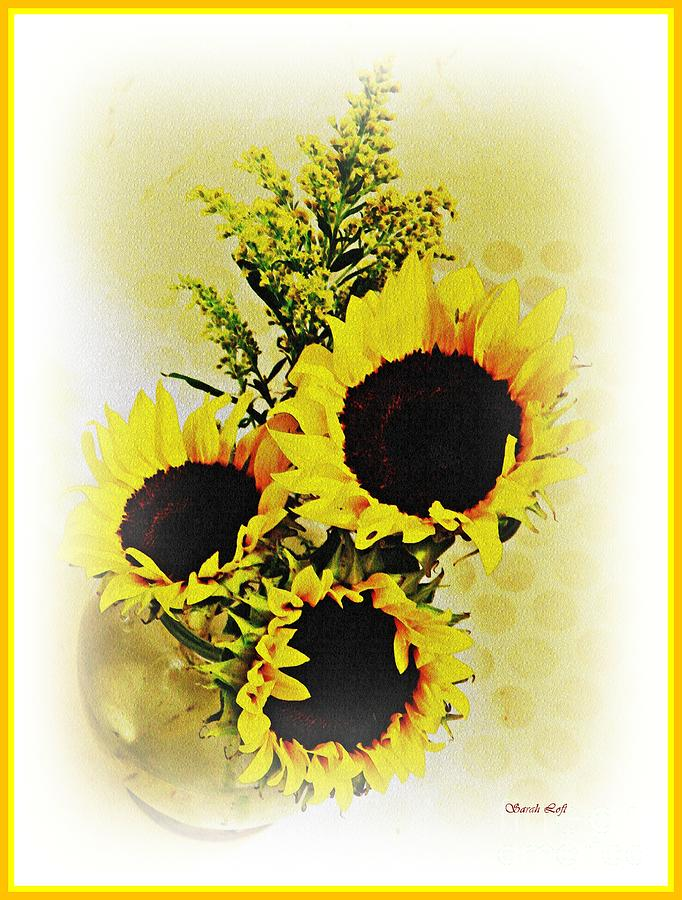 Sunflower Decor 4 Photograph