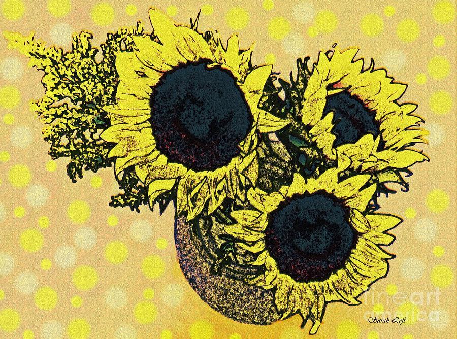 Sunflower Decor 5 Photograph